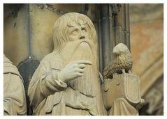 Ulmer Münster: Johannes der Täufer