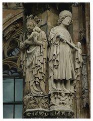 Ulmer Münster: Maria und Martin