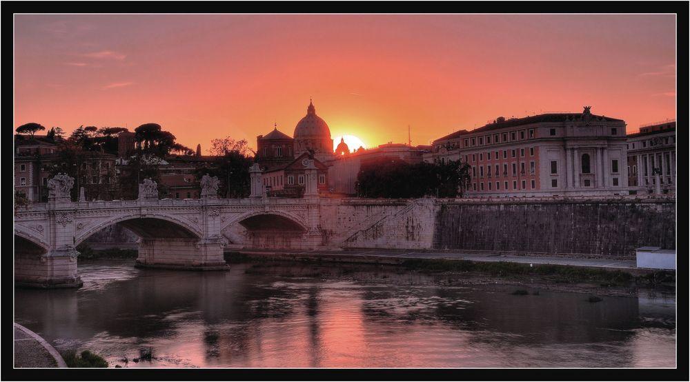 ultima luce a Roma