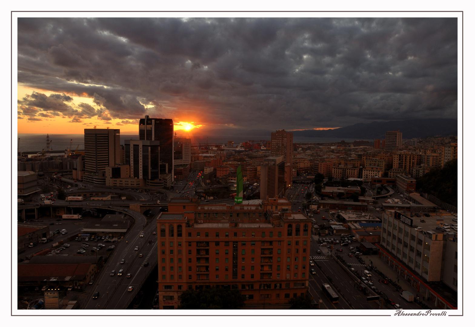 Ultime luci sulla città