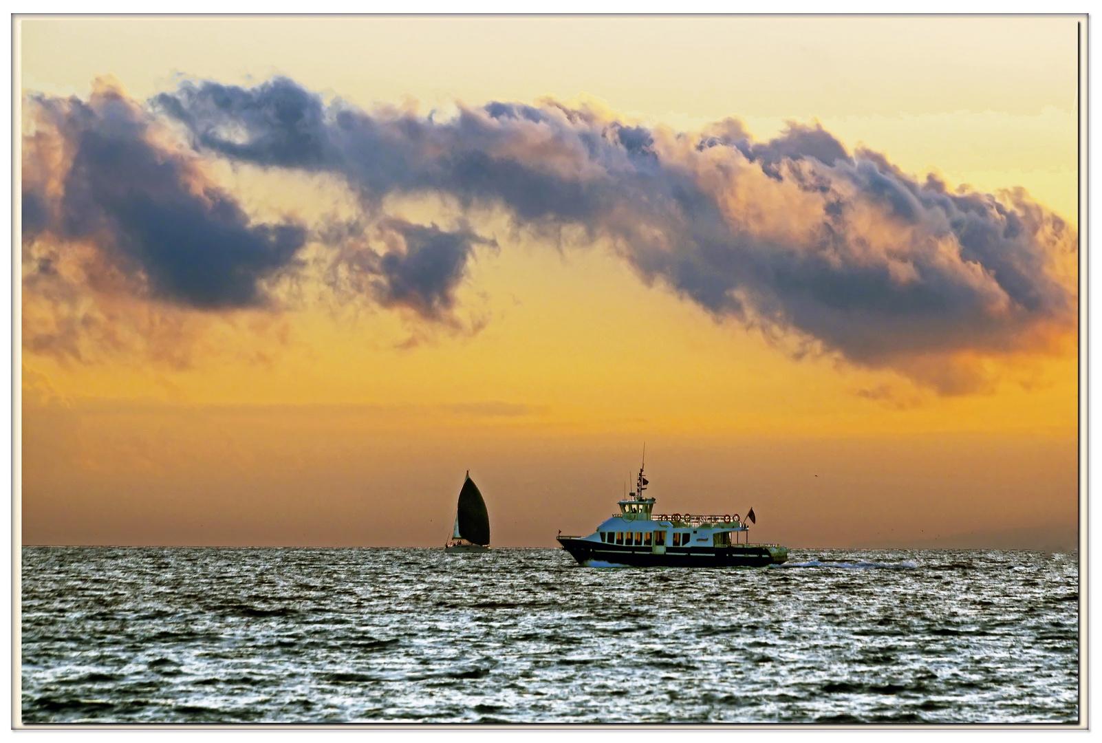 ultimo traghetto ....