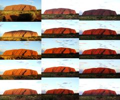 Uluru - Sunset - Serie