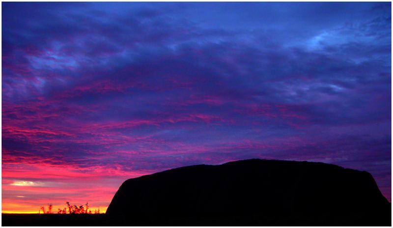 Uluru/Ayers Rock - Sonnenaufgang