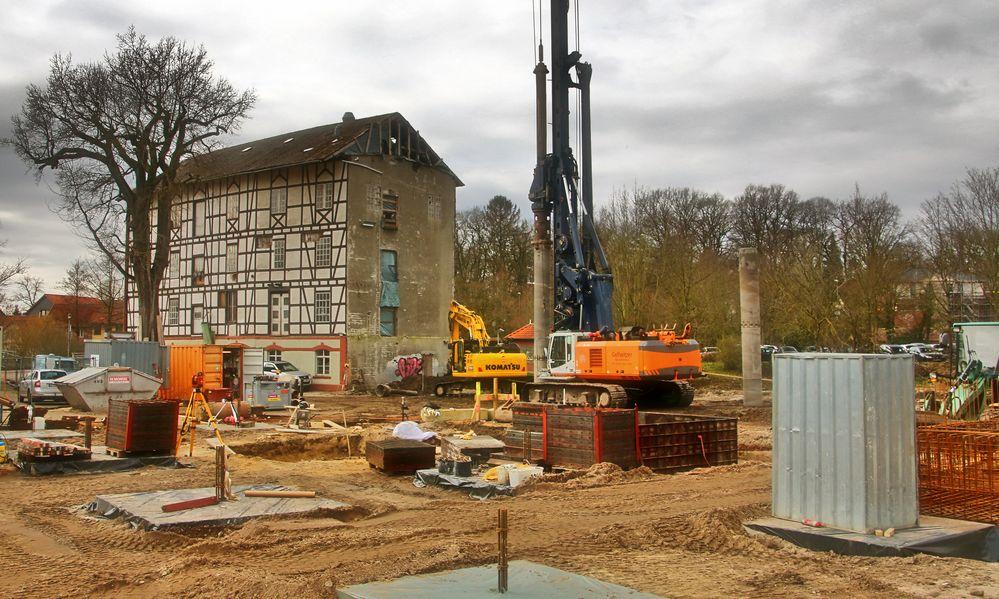 Umbau Wassermühle Gifhorn