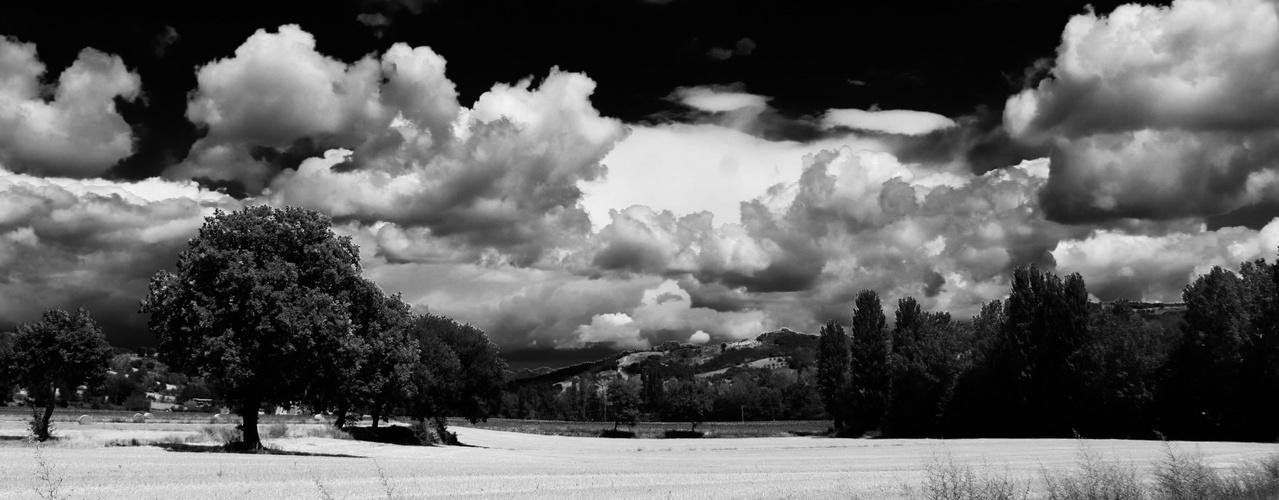 Umbria e nuvole