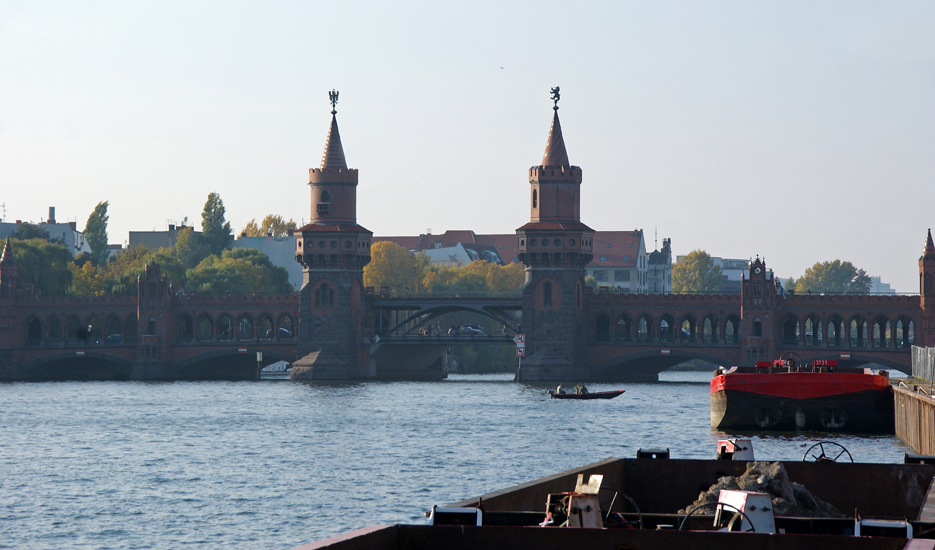 Umgebung Oberbaumbrücke, 11.10.08 – 14