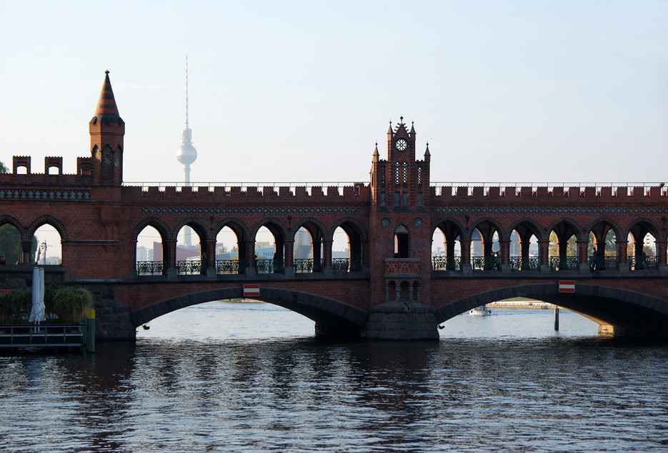 Umgebung Oberbaumbrücke, 11.10.08 – 22