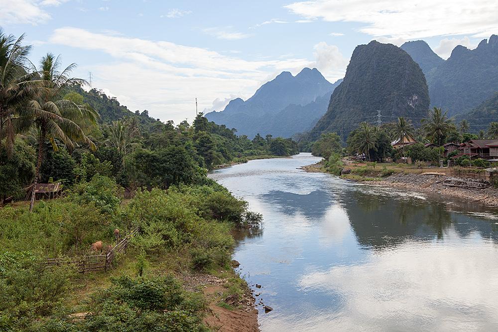 Umgebung von Vang Vieng