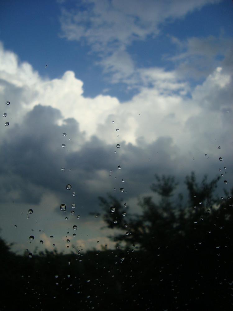 umgekehrter regen