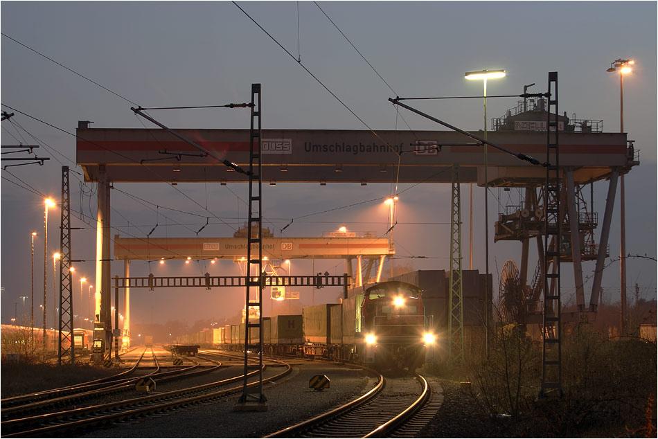 Umschlag Bahnhof