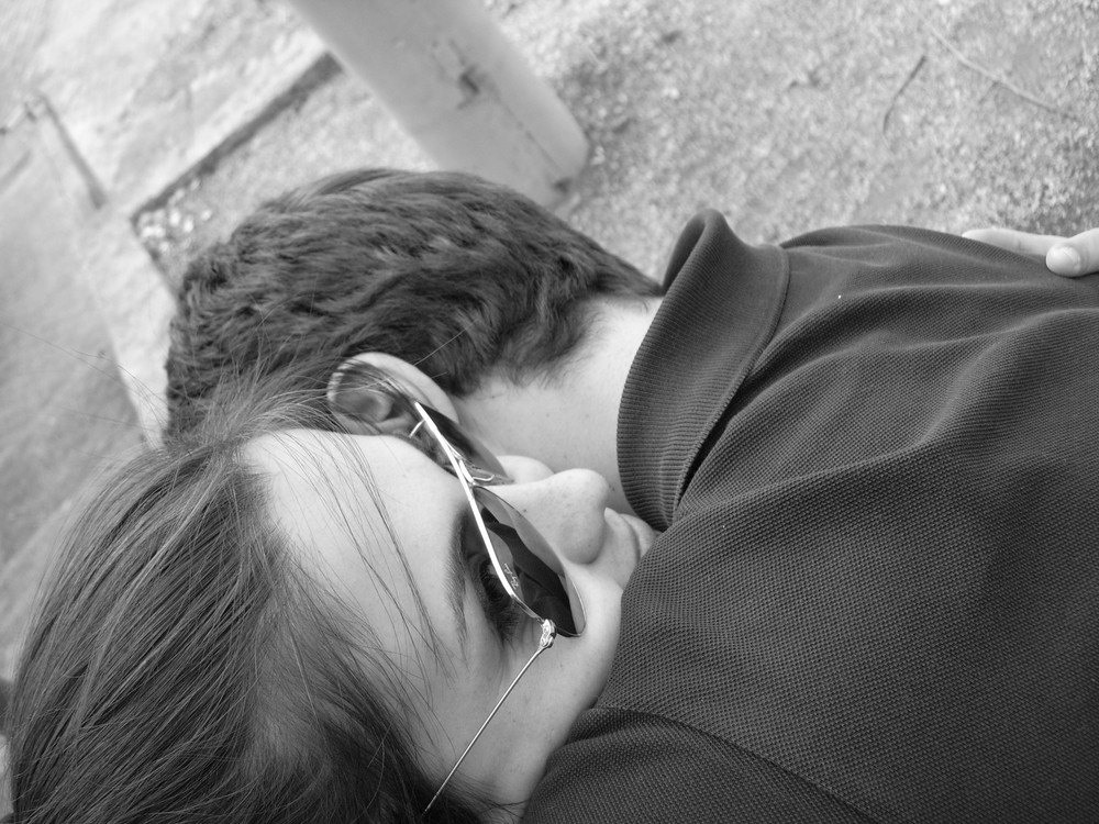 un abbraccio cercato tutta la vita...