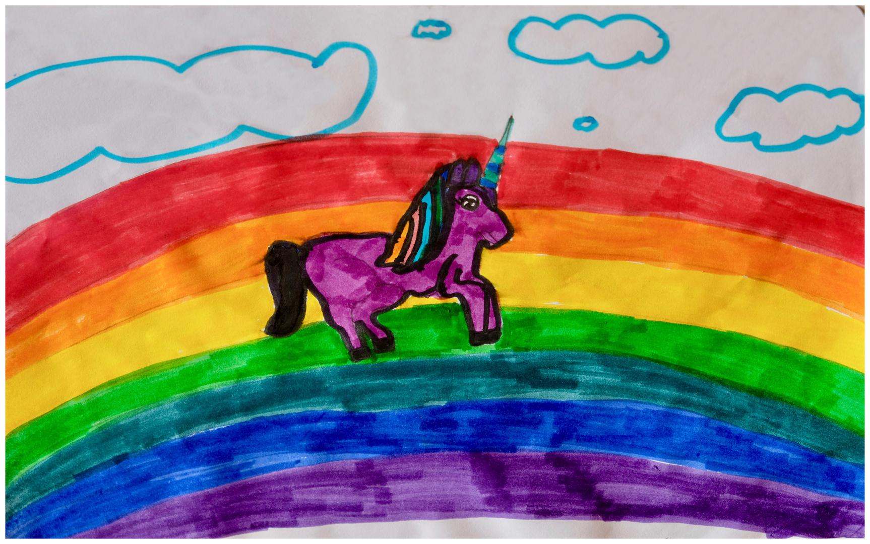Un arcobaleno di pace
