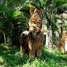 Un autre cheval d'argile en pleine nature