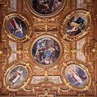 Un autre détail du plafond de la Salle Dorée de l'Hôtel de ville de Augsbourg