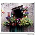 Un balcon en Siena