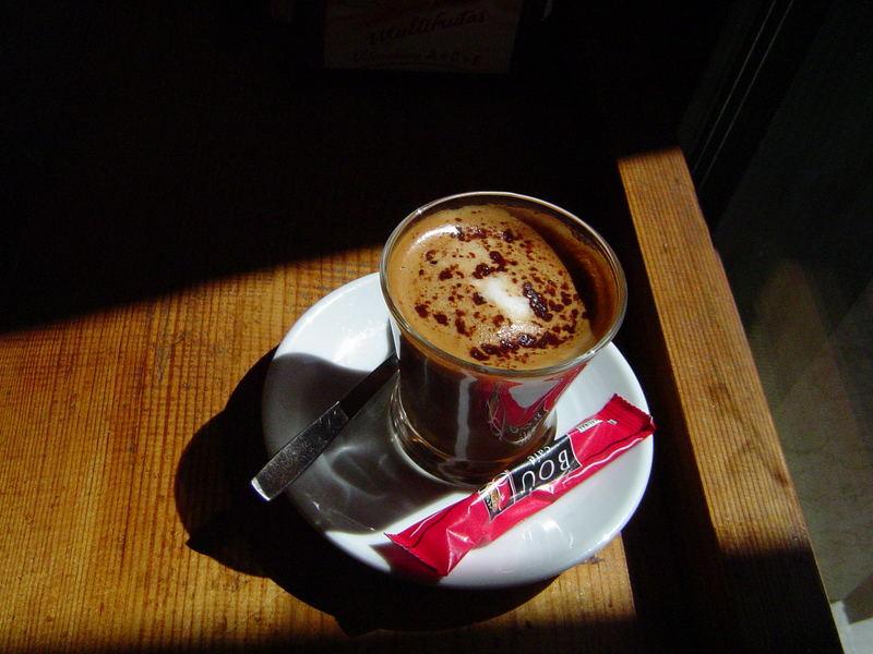 Un buen café en Barcelona