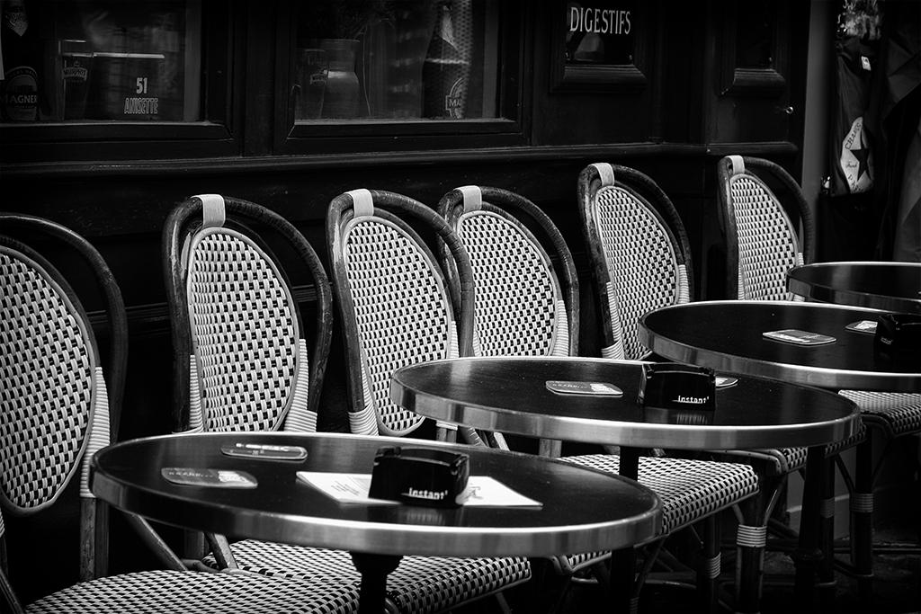 Un café de París