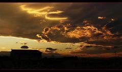 Un caldo tramonto