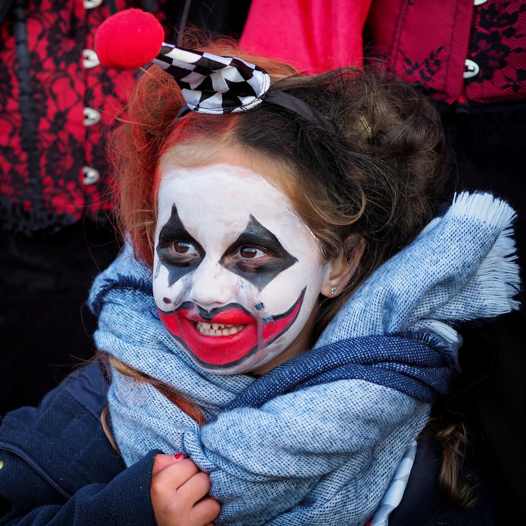 Un charmant petit clown.