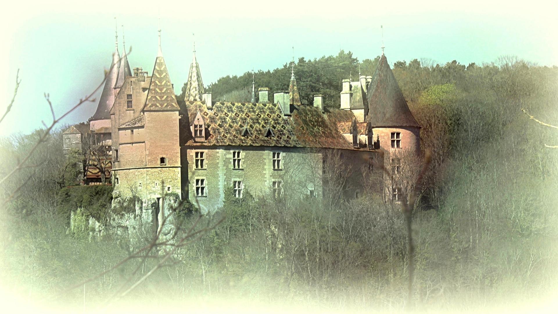 Un château en Bourgogne