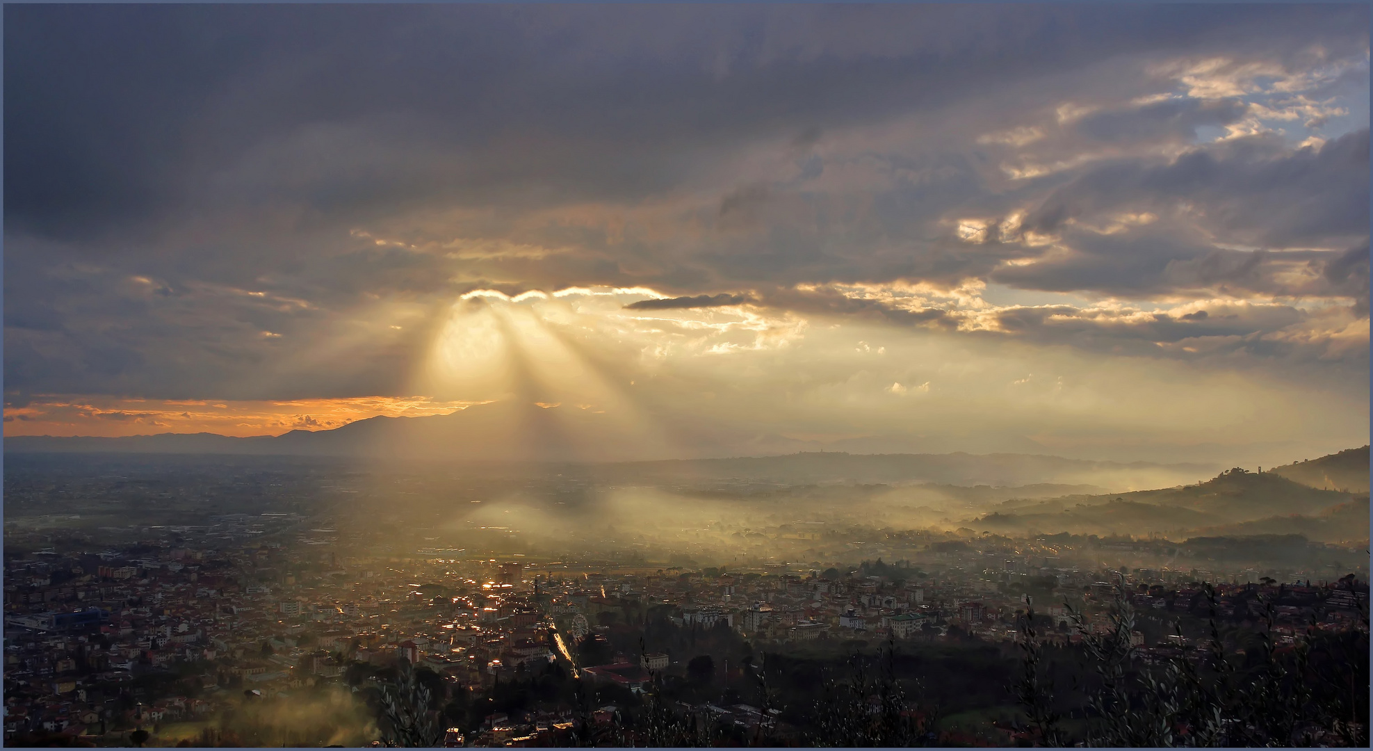 un ciel d apocalypse.....
