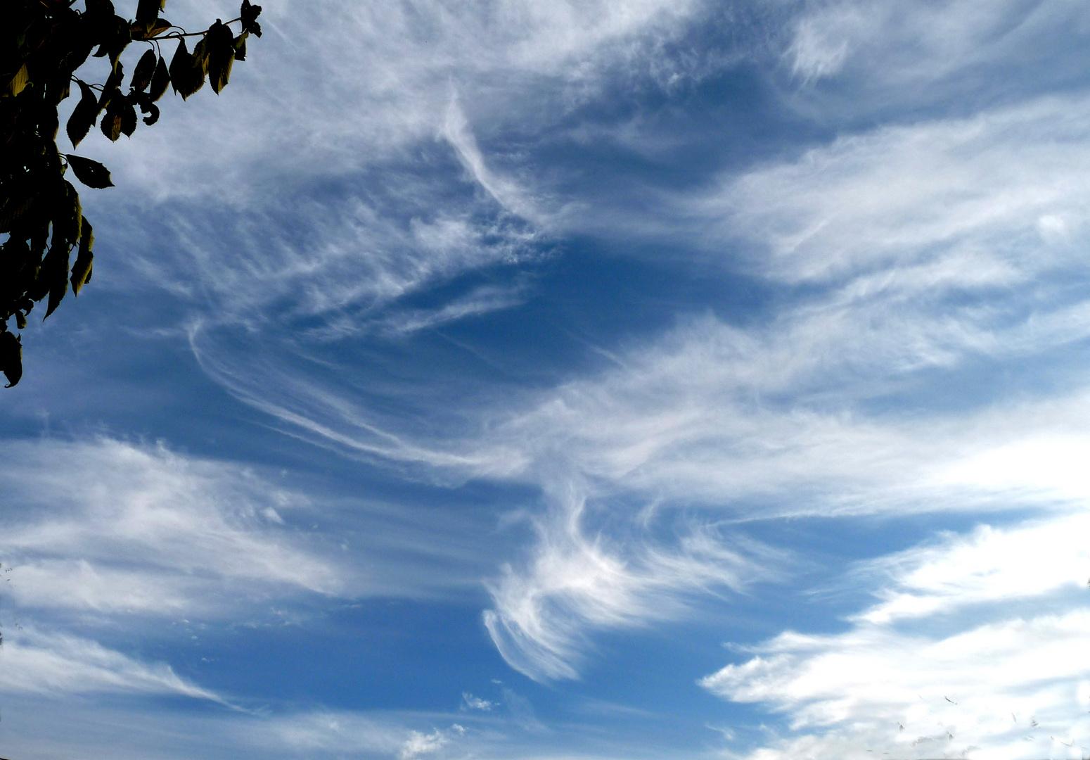 Un ciel d'été sur la côte atlantique