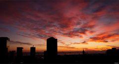un cielo fantastico...