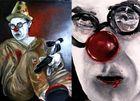 Un clown dans la rue...