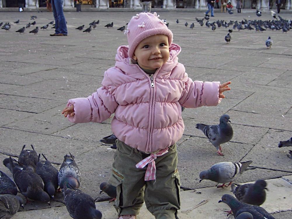 Un confetto rosa di nipotina... un po' più grande!
