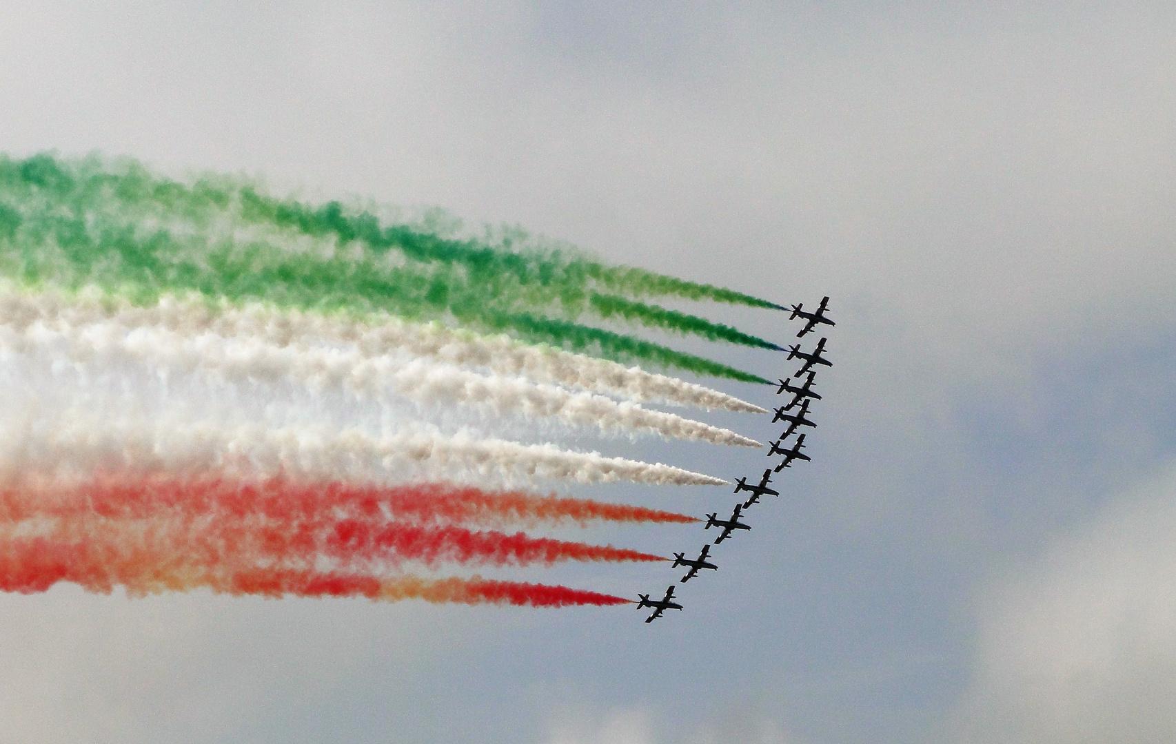Un coucou à mes amis italiens......