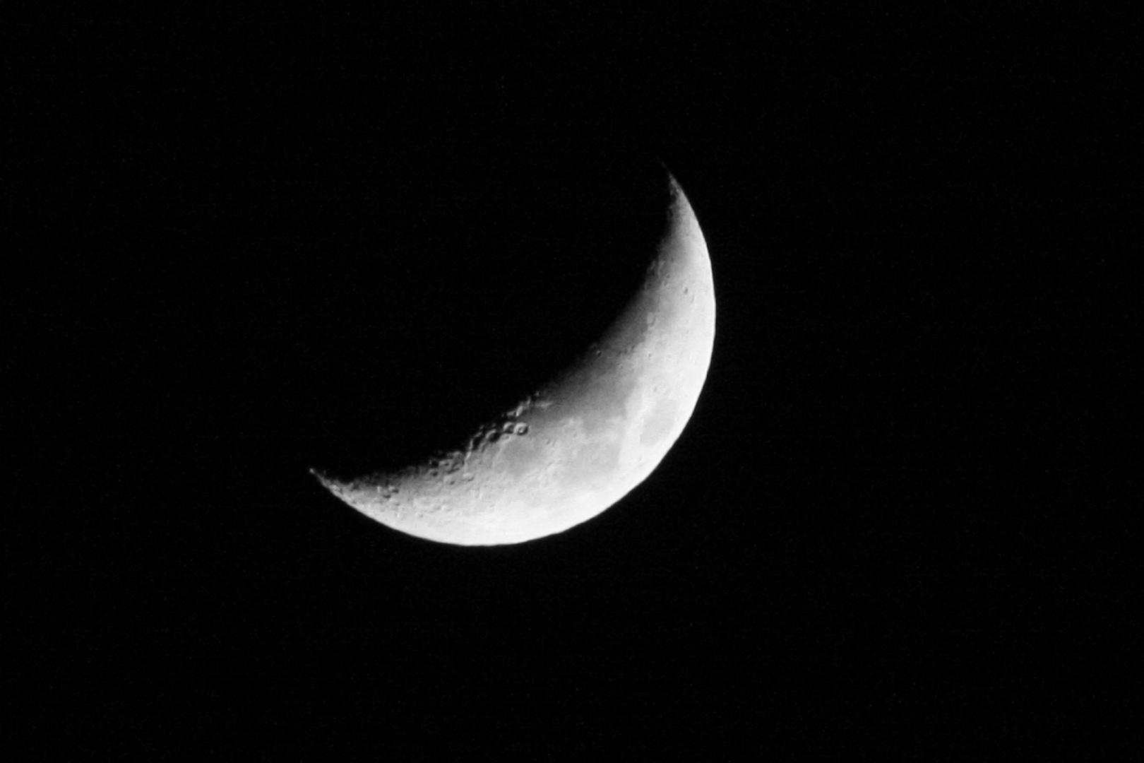un croissant de lune