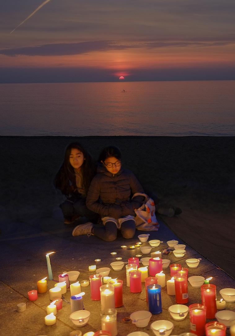 """"""" Un Día llegó el Tsunamis """""""