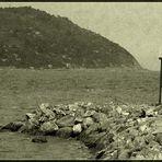 Un faro per due (old postcard)