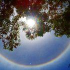 Un halo d'arc en ciel