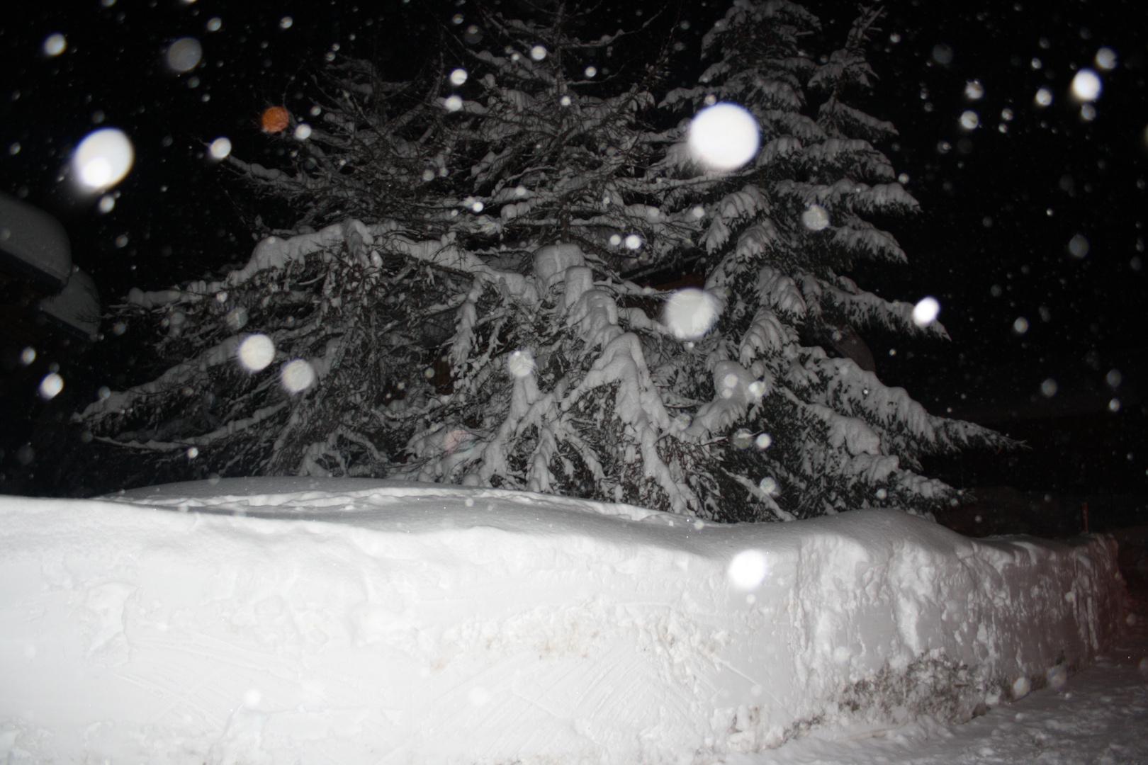Un jour de neige!