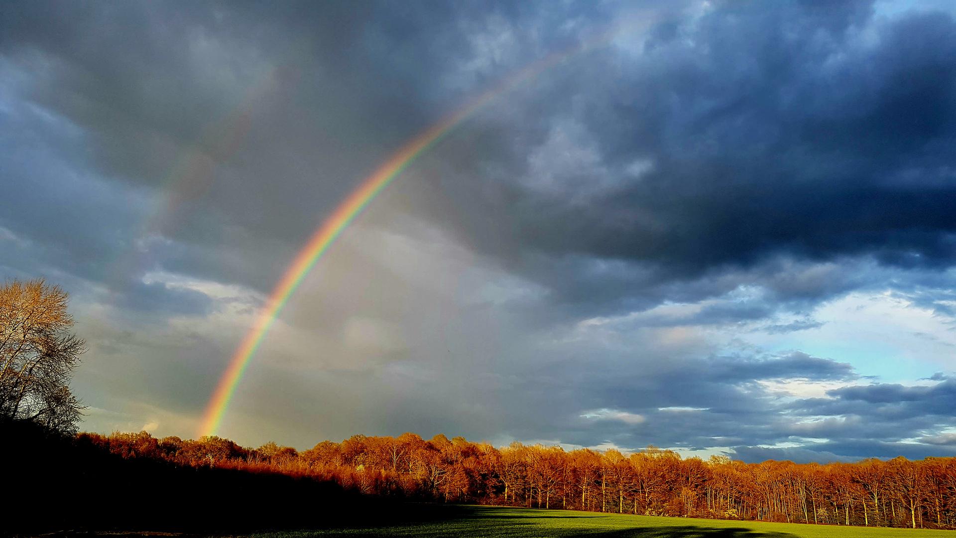 Un jour surgit un Arc en Ciel ..............