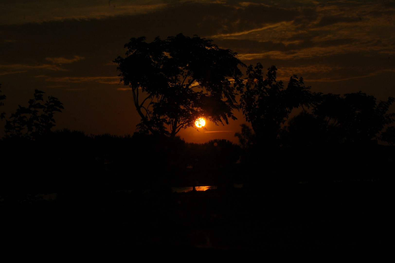 un lever de soleil