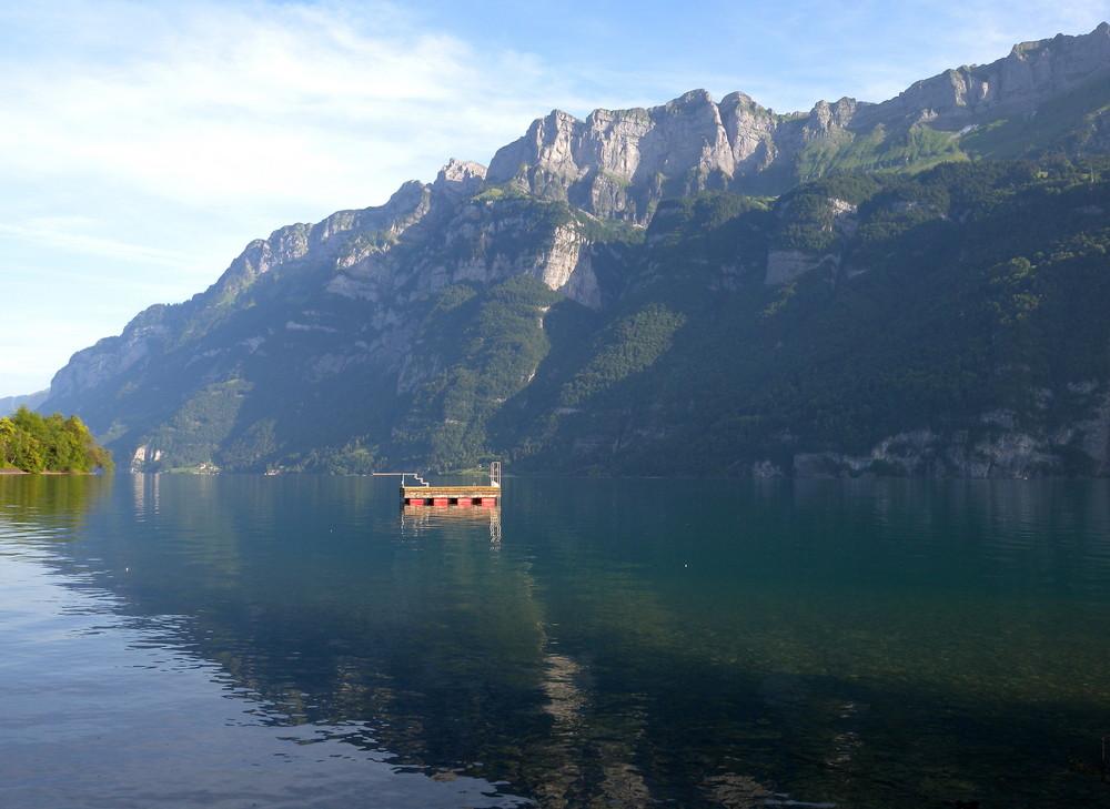 Un matin au lac de Walensee..02