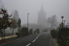 Un matin de brouillard !
