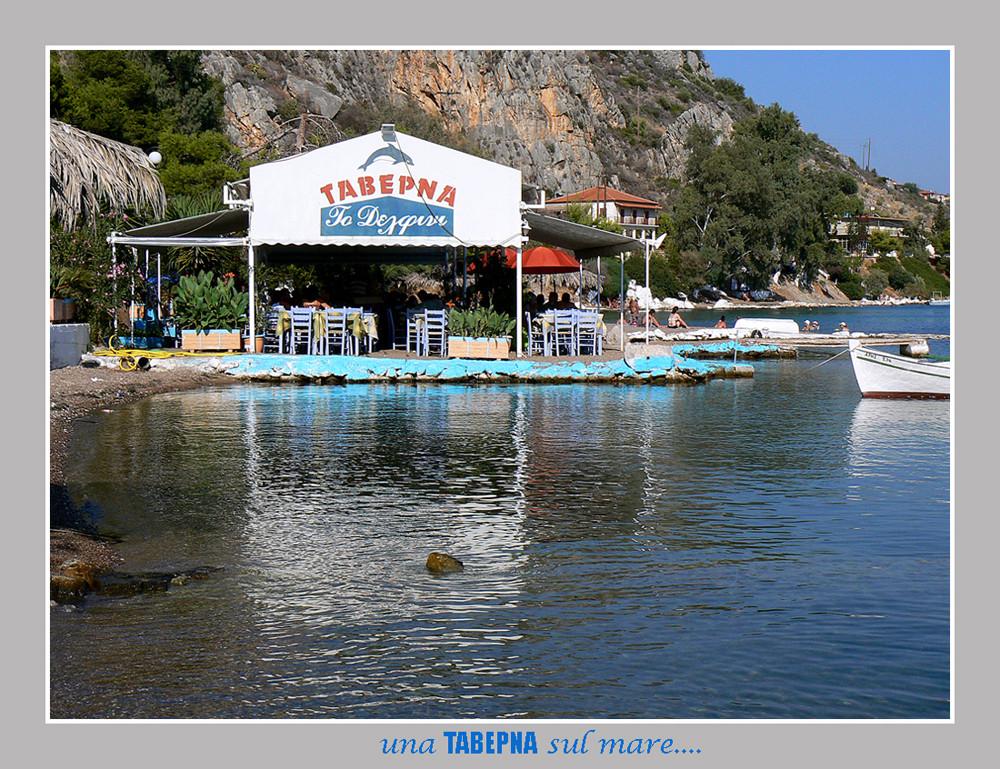 Un piccolo ristorante greco