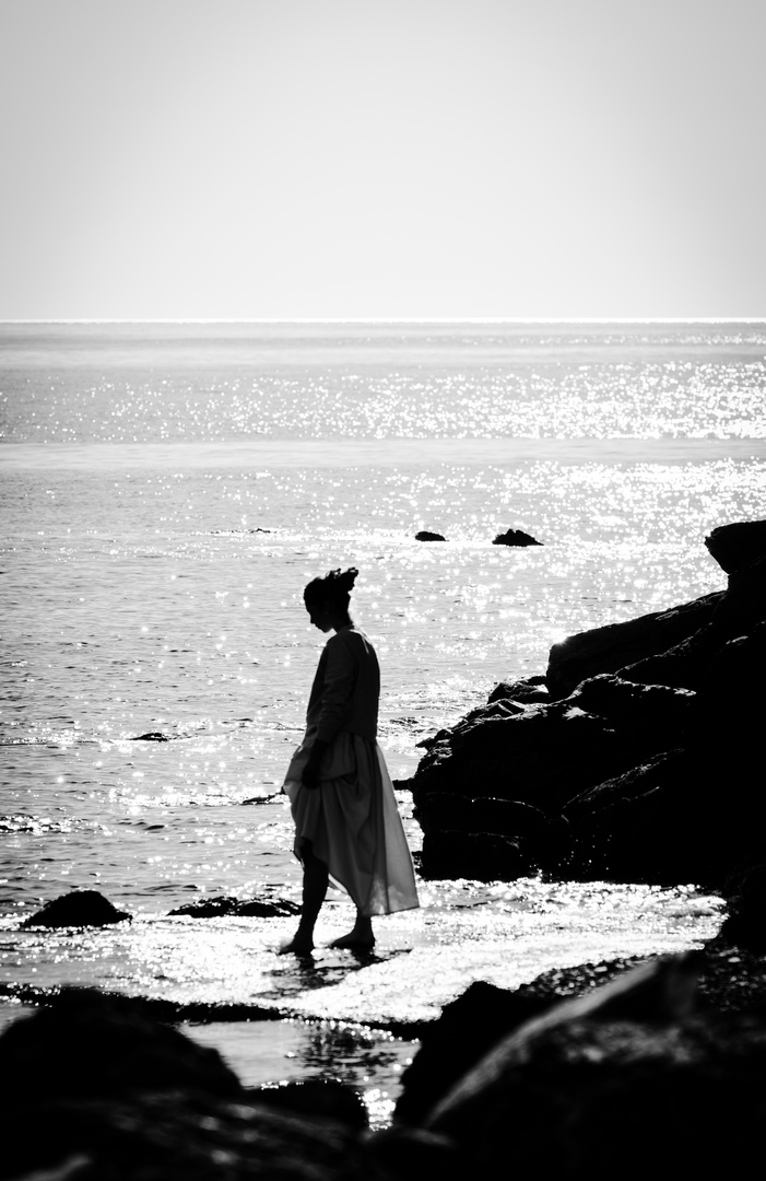 Un po' ti relax alla riva del mare