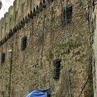 Un povero rifugio a Borgo Pio