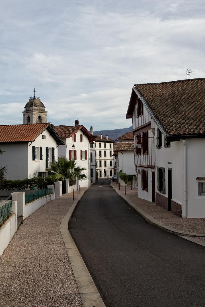 un rue  à Urrugne