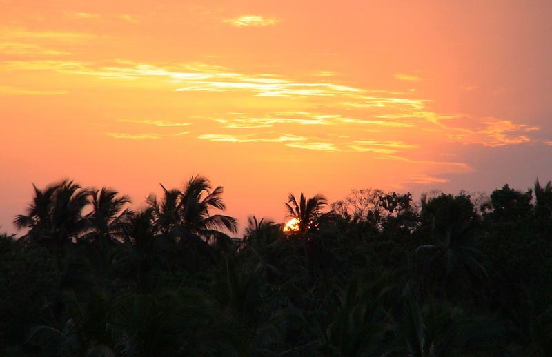 Un semplice tramonto...