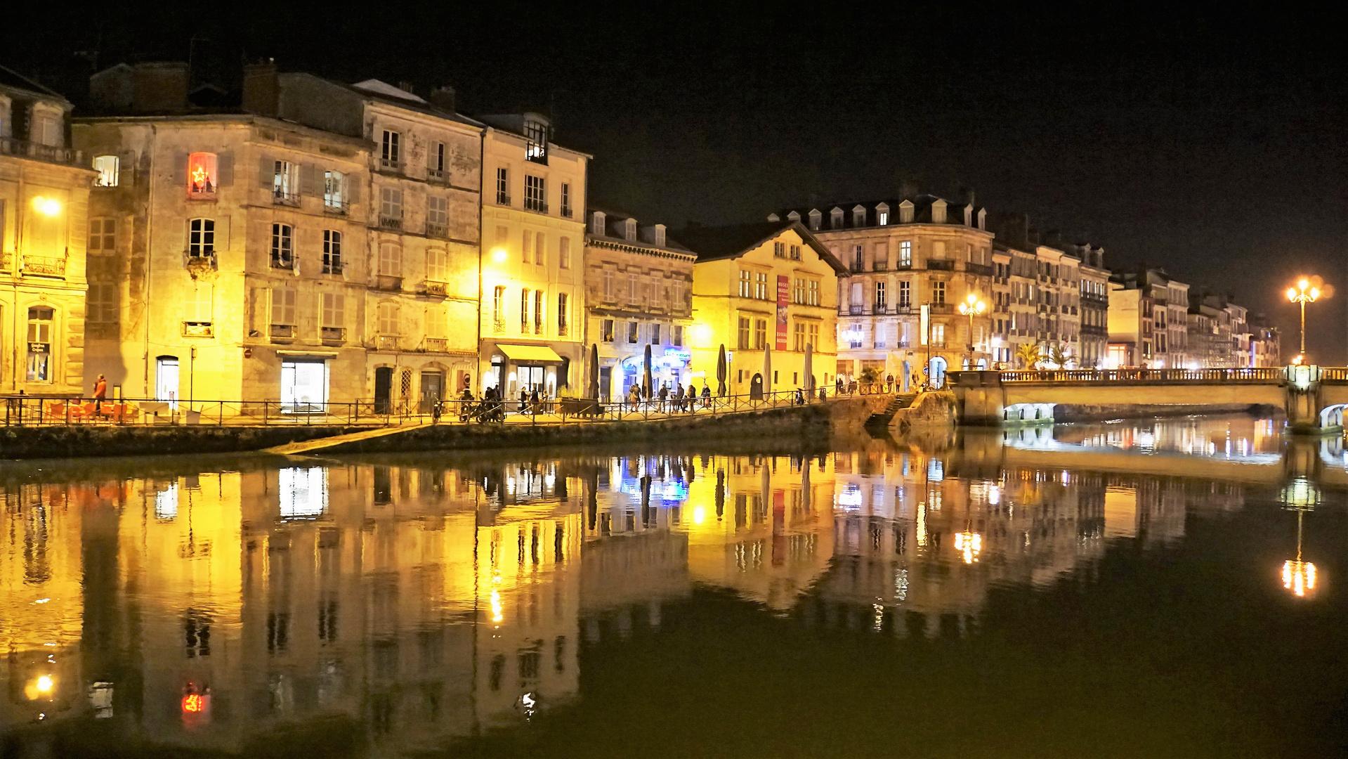 Un soir à Bayonne.....