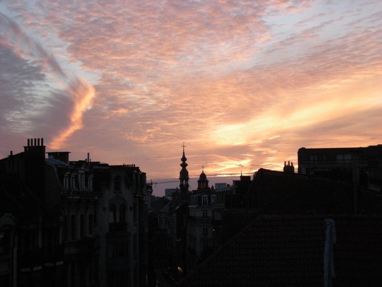 un soir d'août à Bruxelles