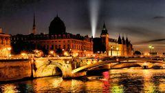 Un soir, la Seine...