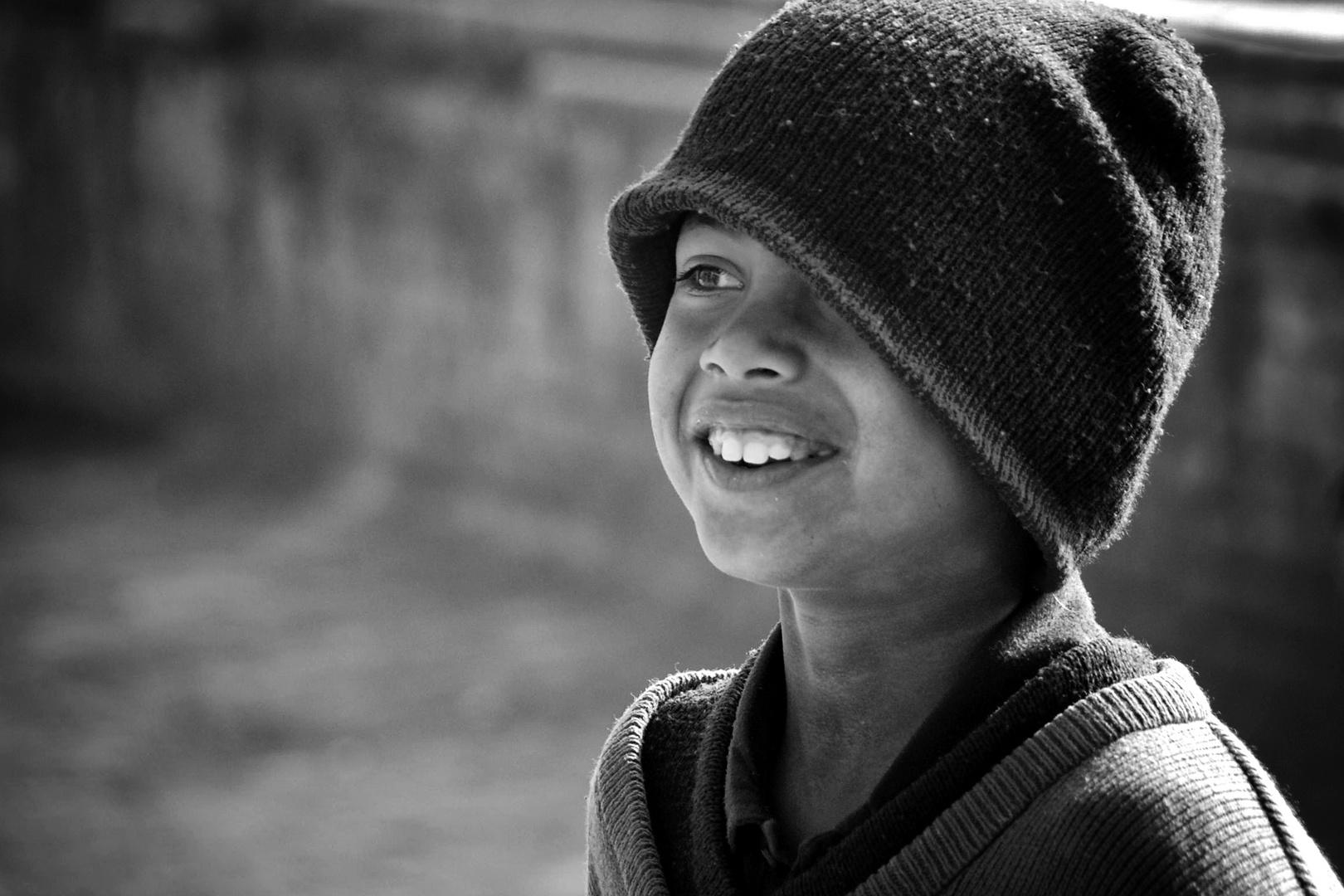 Un sorriso (Nepal)