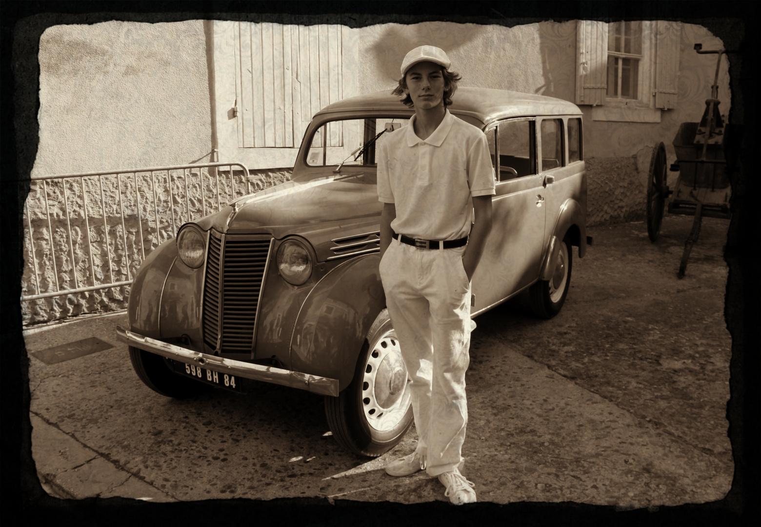 Un tennis man des années 30