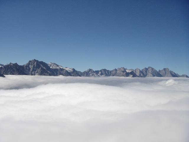 Un teppeto di nuvole..